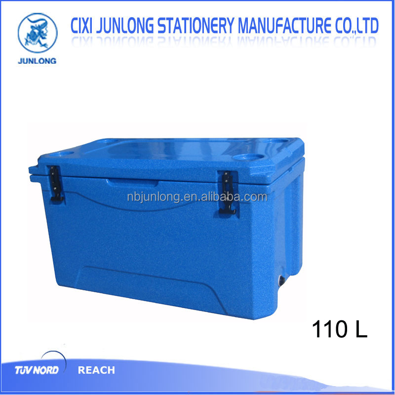 110L Rotomold cooer box ,beer cooler with handle