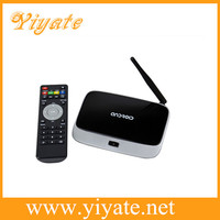 Quad Core Android Media Player Google TV Box Android 4.2, Black Box for TV 2GB RAM 8GB ROM with Bluetooth 4.0