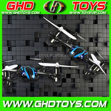 JXD 2.4G rc 4 ch quadcopter with 6-axis gyro flying saucer aircraft with lights
