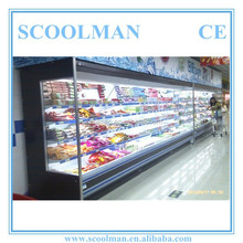 Commercial Used Supermarket Open Showcase Cooler