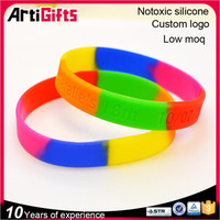 Eco-Friendly silicon material rubber band weaving bracelet