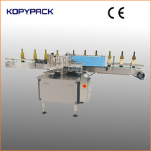automatic labeller with cold glue for round bottles