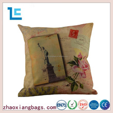 Zhaoxiang 2016 custom printing cushion cover large pillow case