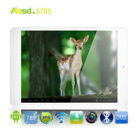 "*Super Sale!! Quad Core Tablet IPS 7.85"" S785, ATM7029, Android 4.1 1GB Ram/ 8GB Rom, Wifi Bluetooth, Dual Camera, Mini Laptop"