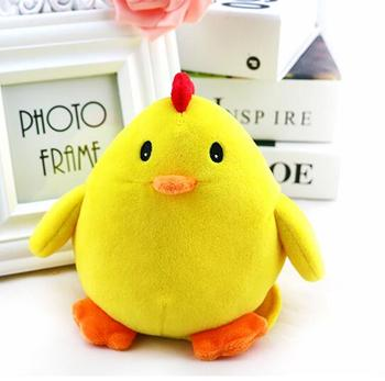 MP3 recording vibrating toys plush chicken toy with sound module