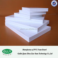 Foam display pvc hard skin/co extrusion boards/sheets for furnitures