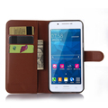 Wholesale Alibaba Mobile Phone Accessories Litchi Pattern Leather Wallet Flip Cover Case for Samsung Galaxy Galaxy A8