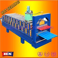 Hot selling corrugated metal roofing sheet machine