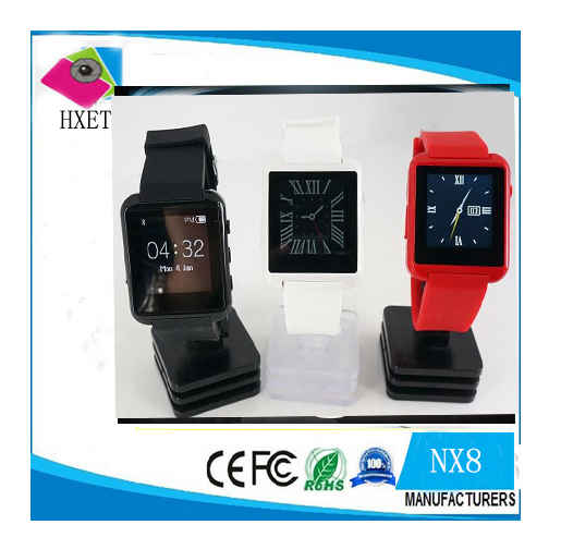 "Cheap Price Good Quality 2016 New NX8 Bluetooth Health Smart Watch Phone 1.44"" Screen Multi Functional 15Languages"