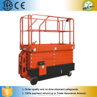 18m self propelled hydraulic ladder lift scissor lift