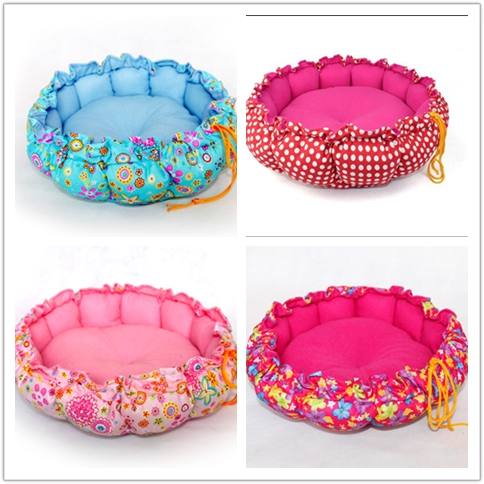 pet accessories decorative cat bed luxury pet dog bed wholesale pet bed round