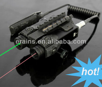 New Military standard Invisible Infrared laser scope and Green laser sight combo