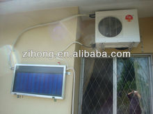 New-design & High-efficiency Flat Plate Hybrid Solar Air Conditioner