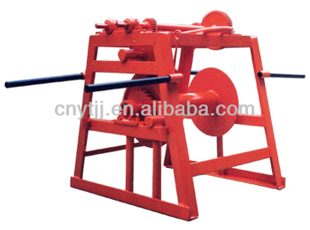 Hydraulic cable drum jacks