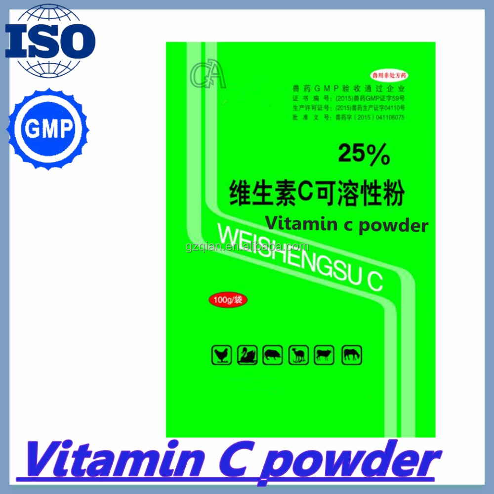 C vitamin c for poultry help to promote growth