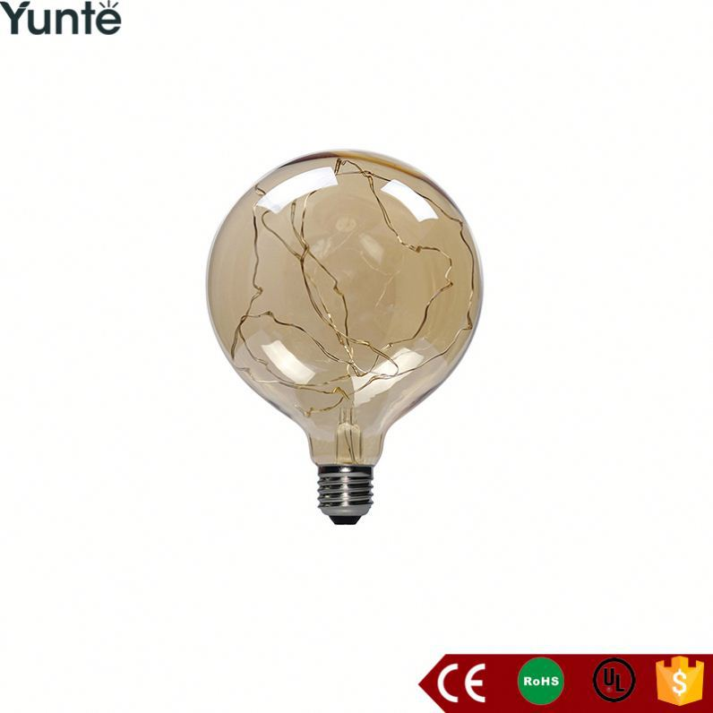 New product g125 blonde led bulb invention 2017 christmas decoration light