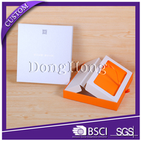 Custom logo paper electronic products packaging slide open box
