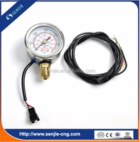 0-4v cng switch with gauge for conversion kit