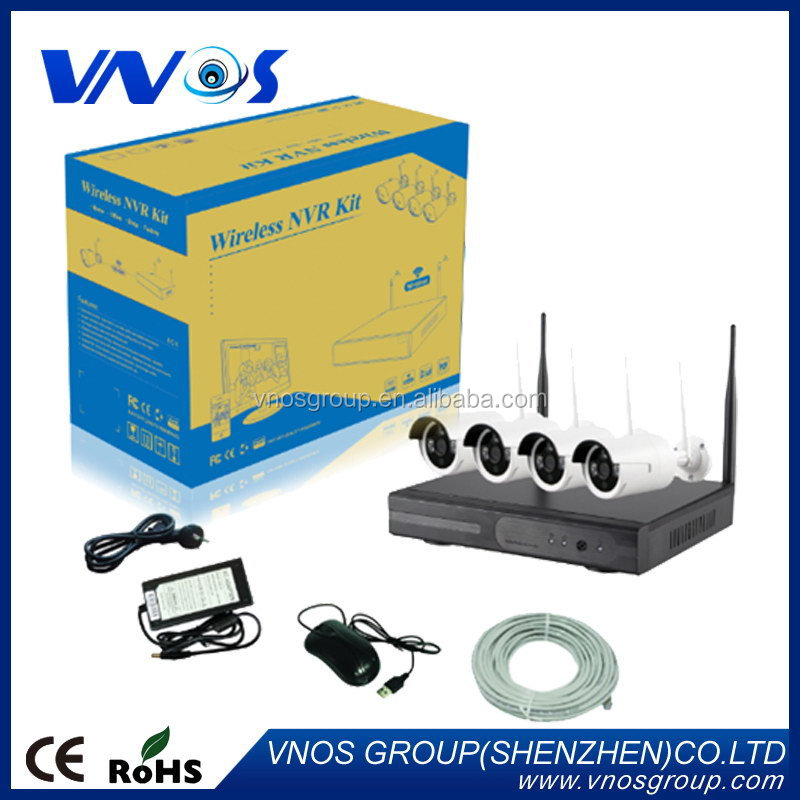 Low price made in china nvr wireless wifi ip camera kit