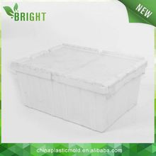 Stacking Moving Plastic Turnover Box/ Plastic Nest Container/ Tote Box steel turnover box made in china
