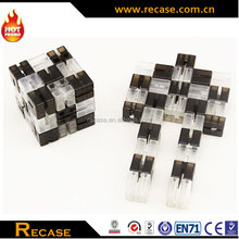 Plastic robot intelligent toys cube for sale