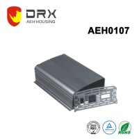 Aluminum case for set top box