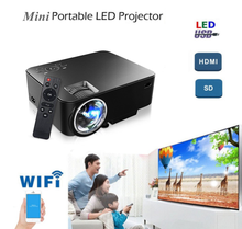 affordable price mobile android wifi bluetooth projector for christmas