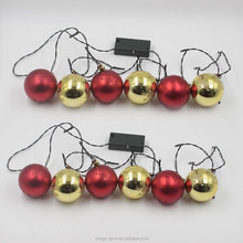 Ball shape Christmas String light flashing led
