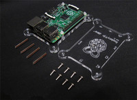 Top sale raspberry pi 2, Acryliccaseor Raspberry pi REV2