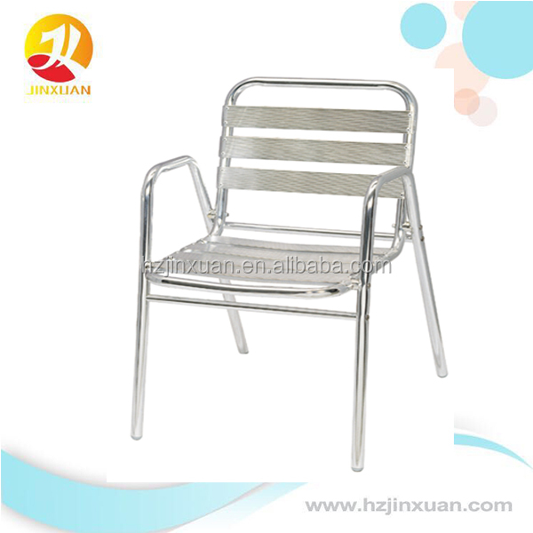 JX7004 Outdoor garden patio leisure aluminium chair and alu. tables folding or not foldable choiceable set furniture oem produce