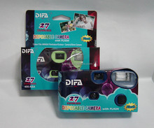 Flash Camera-35MM Wholesale Disposable Cameras with Fuji 200ASA film and built-in D&G Battery