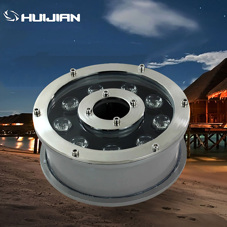 15w Zhongshan factory waterproof decorative pool lighting ip68 led underwater light