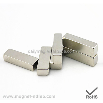 High Performance Bar NdFeB Electric Car Motor Permanent Magnet