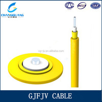 Low induced attenuation indoor use GJFJV fiber optic cable price list