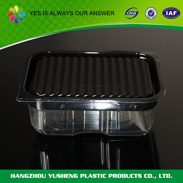 Non-slip disposable plastic PET dry food packaging