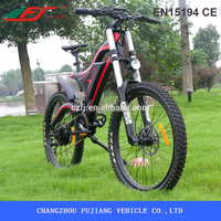 "36V 250W/500W 26"" big front shoulder fork electric bike with CE SGS EN15194"