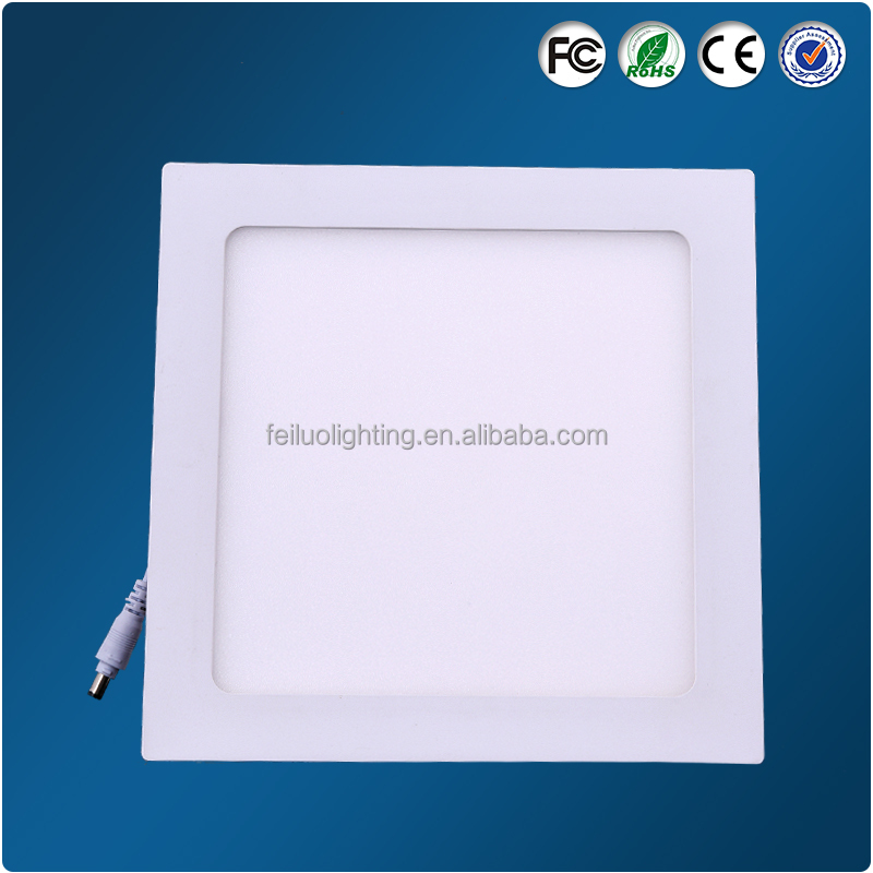 Ultra Slim embedded LED PANEL lights 6w