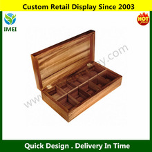 Wood Rectangle Tea Chest YM6-351