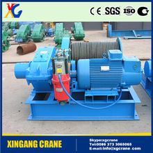 Heavy duty electric winch for wood 220v