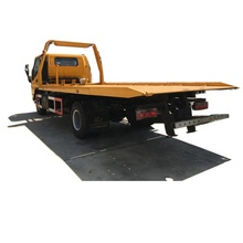 emergency service multifunction street slide up tow wrecker clearance block cars tow truck tilt slide rollback bed only