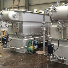 Paper pulp mill wastewater treatment by dissolved air flotation -sewage treatment plant -FDAF-015