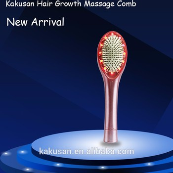 2016 healthy care products kakusan electric hair care head massagercomb