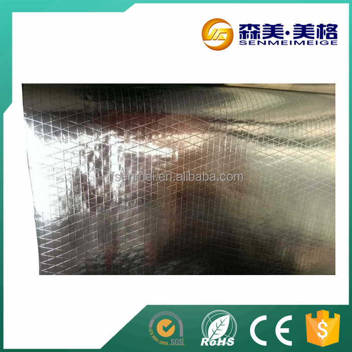 reinforced aluminum foil facing/metal roof insulation materials/reflective fsk