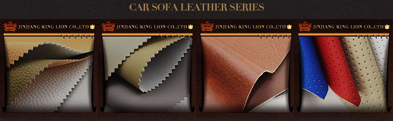 Artificial full grain leather fabric for sofa