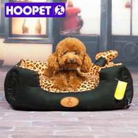 Pet products supplier leopard pattern pet bed crib/kennel cat supplies