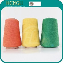 Recycled single cotton yarn for knitting working gloves yarn