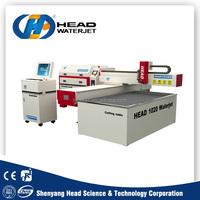 Hot selling products cheap price small water jet cutting machine