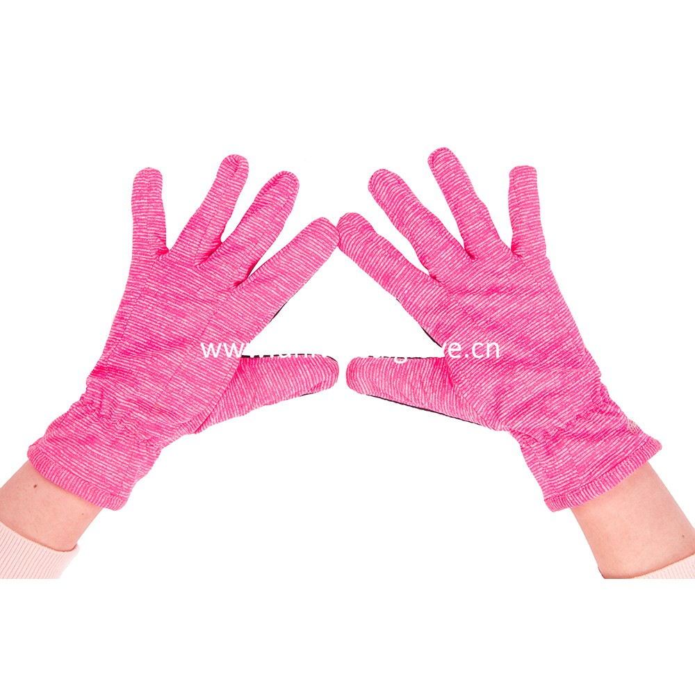 Assorted color soft fabric China Wholesale Womens Running Gloves