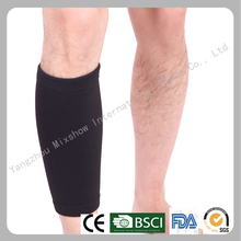 High quality sport elastic knitting compression calf sleeve
