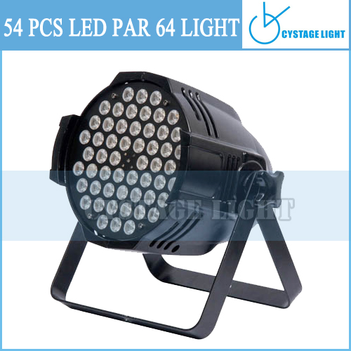 High Power Led 54 3w Par Can Lights Used To Light Stages, Objects, People And Walls
